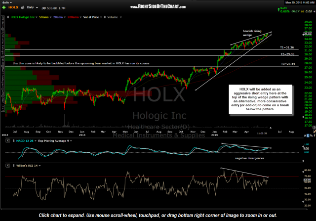 HOLX daily May 29th