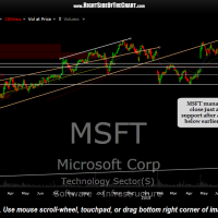 MSFT daily Aug 24th