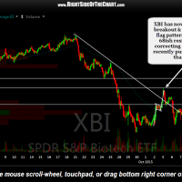 XBI 30 minute Oct 16th