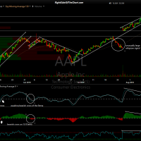 AAPL 60-minute Aug 10th