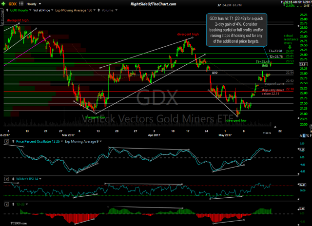 GDX 60-minute May 17th