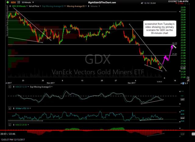 GDX video screenshot Dec 13th